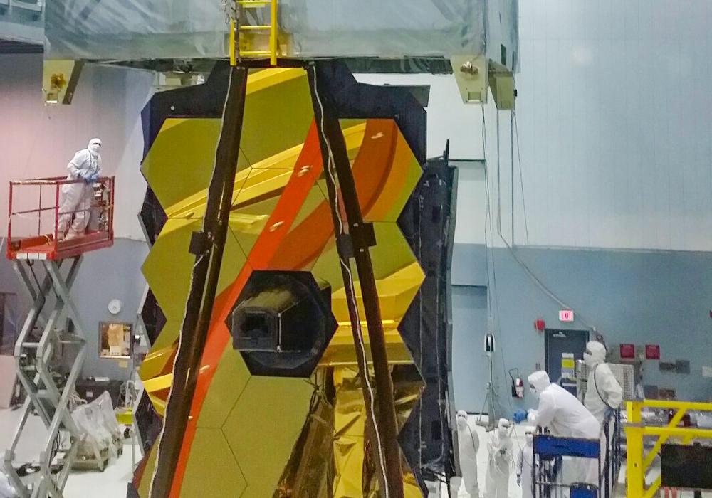 NASA's James Webb Space Telescope Vibration Testing