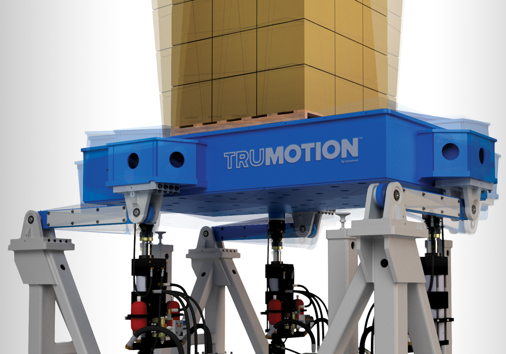 Lansmont TruMotion™ multi-axis vibration test system